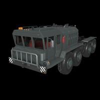 "Tractor KZKT-7428 ""Rusich"