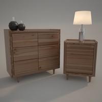 Modern Set of Dresser