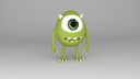 monsters inc 3D models