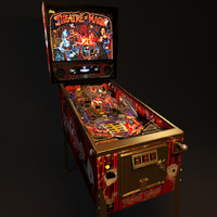 Real3D Pinball machine4