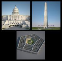 3 Washington Structures