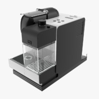 3d nespresso lattissima model