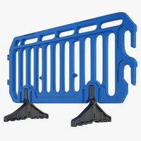 Plastic Crowd Control Barrier 04