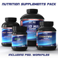 Nutrition Supplements Pack