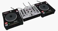 DJ CD Turntable Mixer