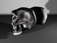 draft type skull