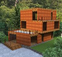 Hi-tech Qualitative Cottage House