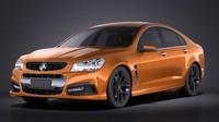 Holden VF Commodore SSV 2014 VRAY