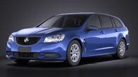 Holden VF Commodore Sportwagon 2014 VRAY