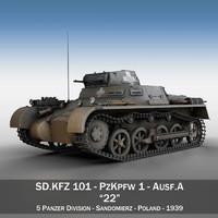 PzKpfw 1 - Panzer 1 - Ausf. A - 22