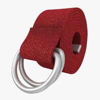D-Ring Belt (Red)