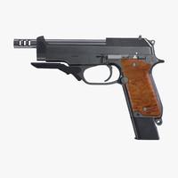 Machine Pistol Beretta 93R