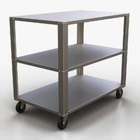 3d model medical cart
