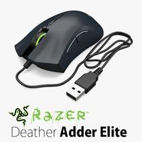 Razer DeatherAdder Elite Computer Mouse