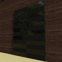 Black Stylish Glossy Door