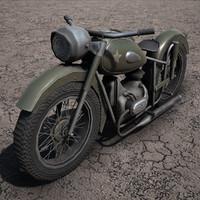 Ural M-63 Motorbike