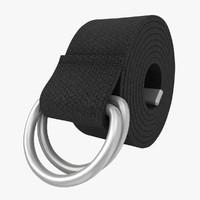 D-Ring Belt (Black)