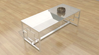 Kaster Coffee Table 3D