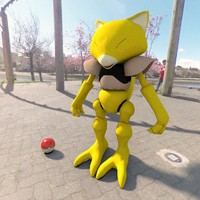 Pokemon abra Vray