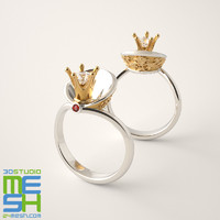 "Engagement ring ""Princess"