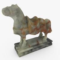 Chinese Jade Horse