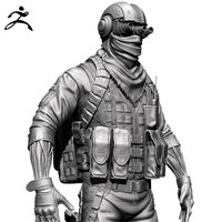 Zbrush Soldier