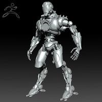 Zbrush Robot