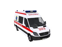 Mercedes Benz Sprinter 313CDI Ambulance Ukraine