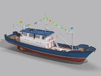 Fishing Boat 01