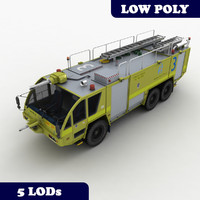 Fire Truck MK-8 Australia with LODs