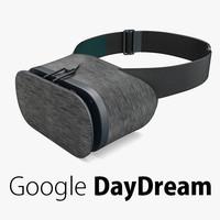 Google DayDream VR Headset Black