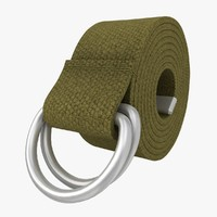 D-Ring Belt (Khaki)