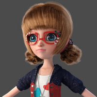 Cartoon_Glasses_Girl