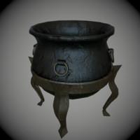Witch Cauldron Medieval