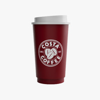 Costa Coffee Paper Cup