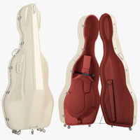 Mammoth Double Bass Case Open 01
