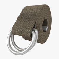 D-Ring Belt (Gray)