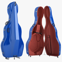 Mammoth Double Bass Case Open 02
