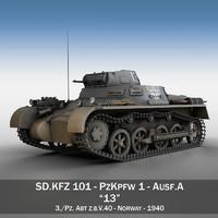 PzKpfw 1 - Panzer 1 - Ausf. A - 13