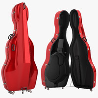 Mammoth Double Bass Case Open 03