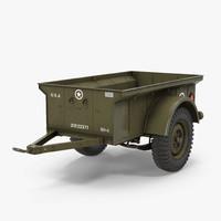 WW2 Military Jeep Trailer