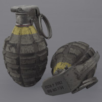 MK2 Pineapple Grenade(1)