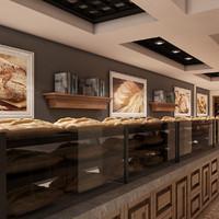 Bagel Bakery Interior 01 V1