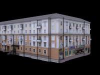 Russian House 5 Floors 10 + Shops