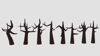Cartoon Dead Tree