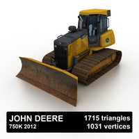 John Deere 750K 2012 Dozer