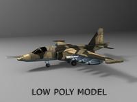 Low poly Su-25