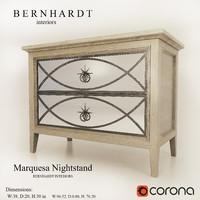 Marquesa Nightstand BERNHARDT