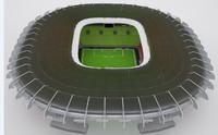Stadium HQ 3D model