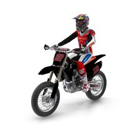 3d crf450r 16ym bike model